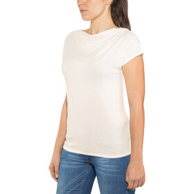 Royal Robbins Essential Tencel Cowl Camisa Cowl Neck Mujer, creme